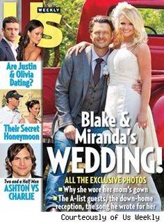 Blake and Miranda! Love it