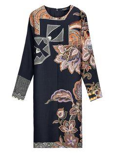 Shop new season Dresses on Etro Official Website. New Kurti, Dress Neck Designs, Stylish Clothes For Women, Autumn Winter Fashion, Winter Style, Abaya Fashion, Women Wear, Ladies Wear, Pattern Fashion