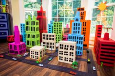 """Tanya Memme shows you how to get creative with your kids (and grandchildren) by making a """"Shoe Box City."""