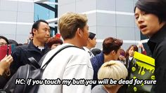 Only Heechul~that's right! Lol