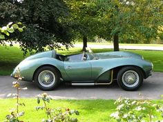 ..._Aston Martin DB3-S  This was close to the start of a great marque. Must be worth a fortune !