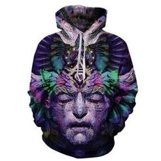2016 New Harajuku Women/Men Hoodies With Hood 3d Printed Pocket Sweatshirts Casual Couples Hoody Jacket