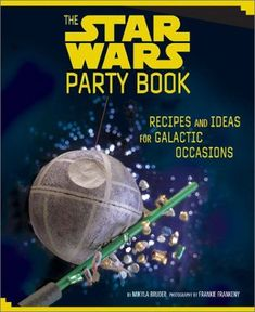 This has soooooo many Star Wars party print outs and diy ideas!!! I used a ton of them. And all of t...