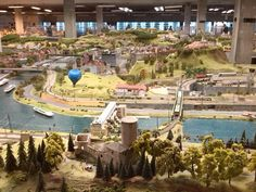 Prague railway model museum