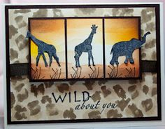 The Joy of Cards and Paper Crafting: Stampers Quest: Wild About You - I love this card!!! So creative!