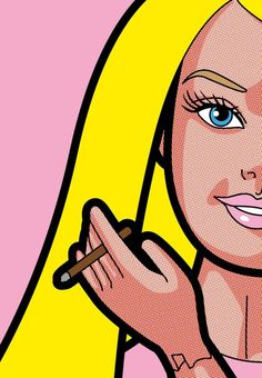 Barbie-Business Gregoire Guillemin Pop Art