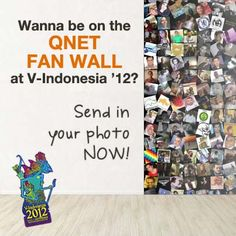 Wanna be on the QNET Fan Wall at V-Indonesia 2012? Send your photo now! #VIndo2012 #VConFever