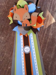 Check out this item in my Etsy shop https://www.etsy.com/listing/150197836/fox-baby-shower-baby-boy-corsage-baby