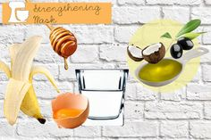 Strengthening Mask | 21 Healthy Hair DIY Treatments For Summer-Starved Hair