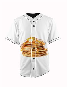 Pancakes White Bu... http://www.jakkoutthebxx.com/products/real-american-size-pancake-stack-food-lover-ihop-dennys-3d-sublimation-print-custom-made-white-button-up-baseball-jersey-plus-size?utm_campaign=social_autopilot&utm_source=pin&utm_medium=pin #alloverprint #mall #style #trending #shoppingaddict  #shoppingtime #musthave #onlineshopping #new