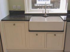 Mm Freestanding Belfast Sink Unit With Appliance Housings - Free standing kitchen sink unit sale