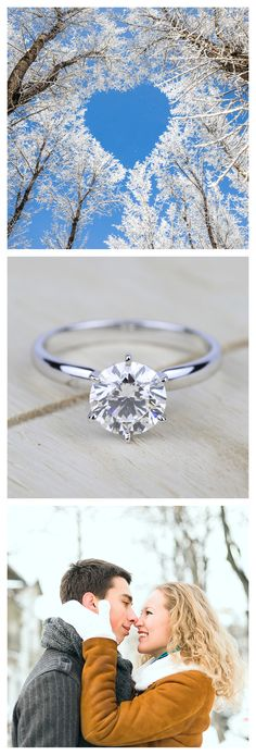 This classic six prong white gold solitaire engagement ring setting lifts the diamond into the light for unequaled brilliance. A platinum four or six prong setting secures your choice of center diamond!