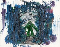 The Swamp  8x10 by PatrickJCreates on Etsy