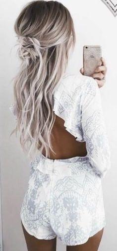 New hair color blonde balayage platinum 44 ideas - Hair Colors Blonde Ideen Ombre Hair Color, Blonde Color, Hair Colors, Ombre Nail, Silver Hair, Silver Ombre, Gray Ombre, White Ombre Hair, Silver Makeup