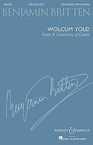 Wolcum Yole (from A Ceremony of Carols)