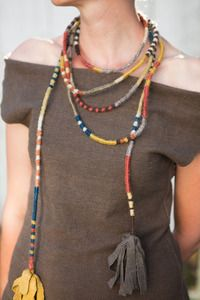 Image of LION'S TAIL Wrapped Necklace/Belt