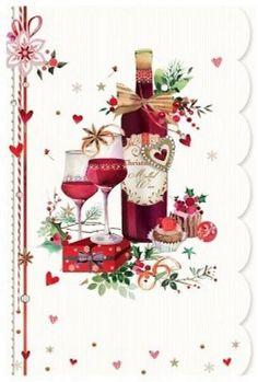christmas wine - Lynn Horrabin