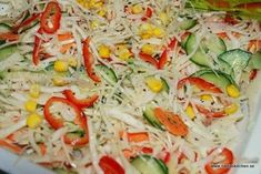 Cold Dishes, Skagen, Coleslaw, Pasta Salad, Spaghetti, Food And Drink, Veggies, Health Fitness, Low Carb