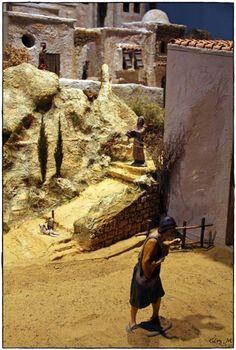 Belenes en Granada. Convento e Iglesia de las Carmelitas Descalzas. Hermandad de Nuestro Padre Jesús Nazareno.