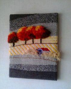 Textil art by corneliasheep