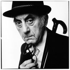 Photographer Man Ray, 1968. Photo: David Bailey.