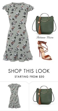 """164"" by tatiana-vieira ❤ liked on Polyvore featuring Christian Louboutin"