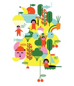 Sue Doeksen: illustrator with an unlimited fantasy. And too much cool stuff to put it all on pinterest!