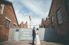 Laure de Sagazan Wedding Dress For A Colourful Wedding At Paintworks Bristol With Flowers By The Rose Shed And Images From Matt Willis Photography Matt Willis, Mr Mrs, About Uk, Bristol, Wedding Colors, Real Weddings, Fair Grounds, Wedding Inspiration, Street View