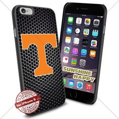 Tennessee Volunteers University NCAA Sunshine3071 Cool iPhone 6  47 Inch Smartphone Case Cover Collector iphone TPU Rubber Case Black * Check out this great product.