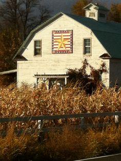 Barn Quilt. Kittitas County, WA. Love barns, Love Kittitas County too!