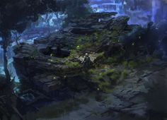 dark fantasy environment ruins 02 by onestepart on DeviantArt