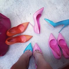 They look like Barbie shoes lol