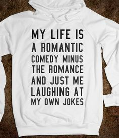 Romantic comedy - S.J.Fashion - Skreened T-shirts, Organic Shirts, Hoodies, Kids Tees, Baby One-Pieces and Tote Bags on Wanelo
