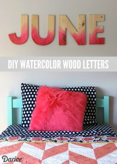 DIY-watercolor-wood-letters