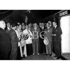 Inauguración del tramo del Metro, Vallecas - Portazgo - 1962