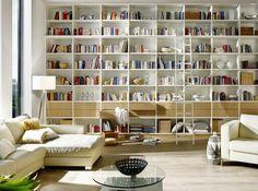 10x Open Boekenplanken : Concord green: double duty rooms: dining room library this room is