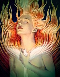 Discover the sensual art of internationally acclaimed visionary artist A. Influences include fantastic realism, surrealism, symbolist, transfigurative, esoteric and spiritual art. Psychedelic Art, Deviant Art, Art Visionnaire, Illustrator, Beauty Spells, Most Beautiful Paintings, Esoteric Art, Ange Demon, Visionary Art