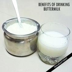 BENEFITS OF DRINKING BUTTERMILK