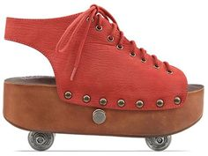 yes please!!   Awesome Spotting: Jeffrey Campbell Retractable Roller Skate Shoes | The Luxury Spot