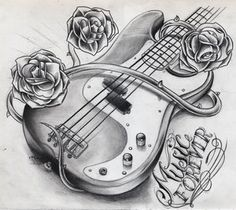 Possibly doing a music/rose themed sleeve on my left arm! I love this!