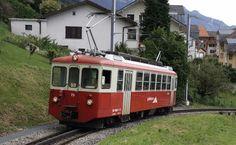 mvr-bdeh-2-4-73-blonay-2 MVR BDeh 2/4 73 -- Prélaz -- 21.08.2016 Train Suisse, Vevey, Swiss Railways, Transportation, Travel, Vintage, World, Photography, Viajes