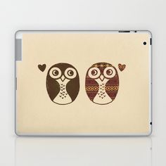 Opposites Attract Laptop & iPad Skin by Terry Fan - $25.00