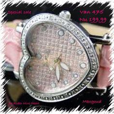 Nu 199,99 diamant horloge