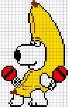 Minecraft Pixel Art Templates: Brian