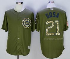 http://www.xjersey.com/cubs-21-sammy-sosa-olive-green-new-cool-base-jersey.html Only$35.00 CUBS 21 SAMMY SOSA OLIVE GREEN NEW COOL BASE JERSEY #Free #Shipping!