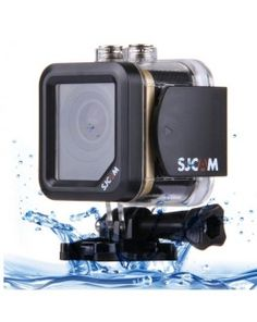 SJCAM M10 Cube Mini Waterproof Action Sports Camera with 170-degree Wide-angle Lens, 1.5 Inch LTPS Screen, Support Full HD 1080P(Gold)