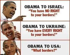 What Borders? Fugged up idiot