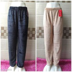 Pyjamas and Lounge Pants  Trendy Women Fancy Lower Fabric: Velvet Pattern: Solid Multipack: 2 Sizes:  32 (Waist Size: 32 in Length Size: 39 in Hip Size: 34 in)  34 (Waist Size: 34 in Length Size: 39 in Hip Size: 36in)  36 (Waist Size: 36 in Length Size: 39 in Hip Size: 38 in)  38 (Waist Size: 38 in Length Size: 39 in Hip Size: 40 in)  40 (Waist Size: 40 in Length Size: 39 in Hip Size: 42 in) Country of Origin: India Sizes Available: 28, 30, 32, 34, 36, 38, 40, 42   Catalog Rating: ★4 (849)  Catalog Name: Ravishing Fashionista Women Palazzos CatalogID_1625983 C76-SC1054 Code: 074-9309455-0021