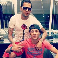 Dani Alves & Neymar Jr.