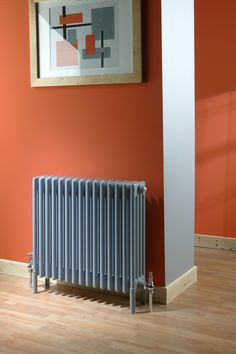 Ancona multicolumn radiator in blue